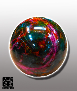 七彩藝石圓球 Rainbow Art Stone Ball