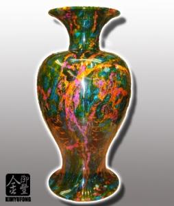 七彩藝石客製花瓶 Rainbow ArtStone Vase(Customizable)