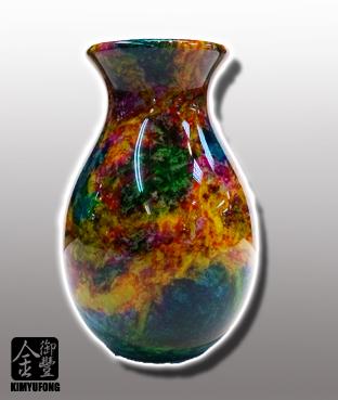 七彩藝石淨瓶 Rainbow ArtStone Vase