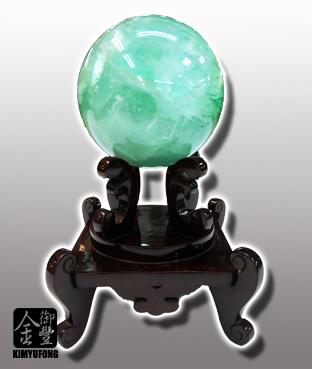 冷翡翠圓球 Fluorite Ball