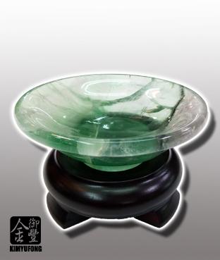冷翡翠玉盤 Fluorite Plate