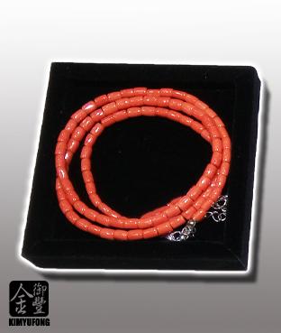 桃紅珊瑚項鍊 Momo Coral Necklace