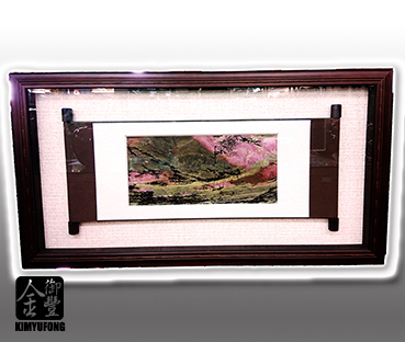 玫瑰石石畫(立體框) Rose Stone Picture(3D Frame)