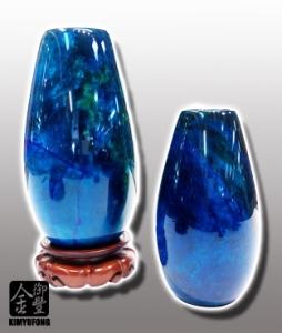 花海藍寶花瓶 Ocean GardenStone Vase