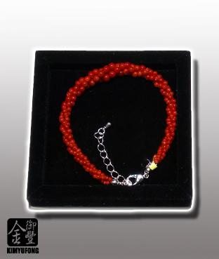 赤紅珊瑚手鍊 A-ka Coral Bracelet