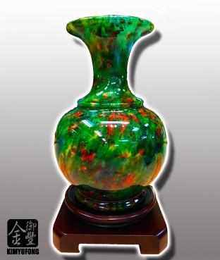 霓虹碧玉客製花瓶 Colorful LuckyStone Vase(Customizable)