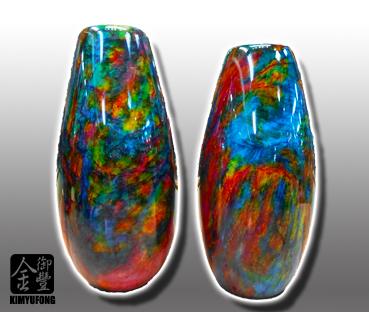 霓虹碧玉花瓶 Colorful LuckyStone Vases